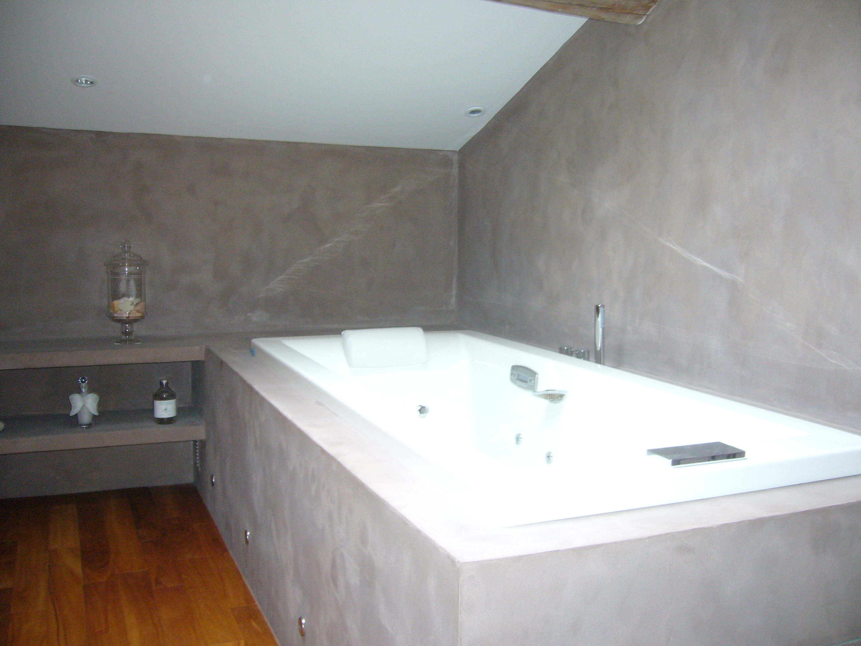 1000 images about salle de bain on pinterest for Salle de bain mur beton cire
